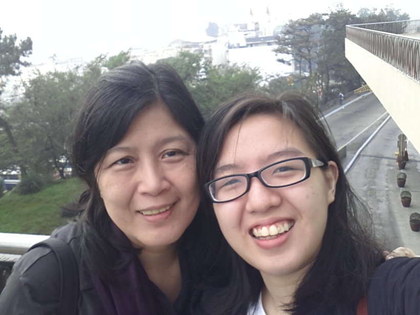 Mommy and Me selfie - the first of many during this entire trip. :))